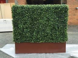 artificial hedge window box
