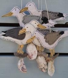 Handmade Seagull souvenirs