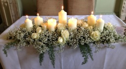 Wedding Venue Flowers by Flower Design, Ripon