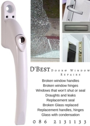 broken glass pvc handles hinges seals letterbox