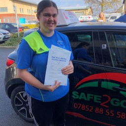 Safe2go driving School dyslexia driving lessons