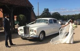 Long Wheelbase Silver Cloud Rolls Royce