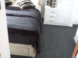 Bedroom Carpet Grey