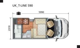 T-Line 590 Layout