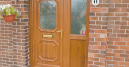 Brown UPVC Doors Peterborough