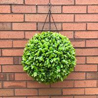 high quality artificial floral hedging topiary