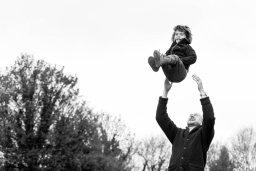 Fun, outdoor family shoot
