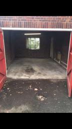 Garage after speedy clearances