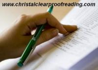 Christal Clear University Proofreading - Ayr