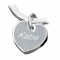 Children Keyring Heart Charm