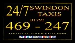 24/7 Swindon Taxis Receipt Cards