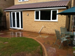 Extension & Garden Landscaped