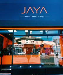 JAYA Luxury Garment Care Shop Front