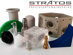 Plastic and Metal CNC Components by Stratos