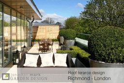 roof terrace designs