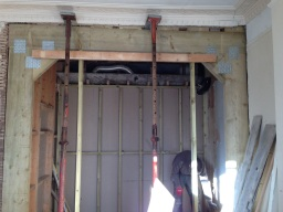 Timber frame - bearing wall removal
