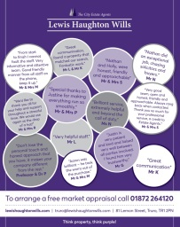 Testimonials from our Truro Office