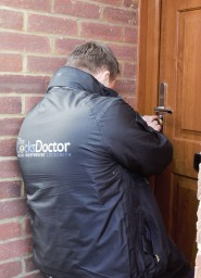 Gain entry by picking lock