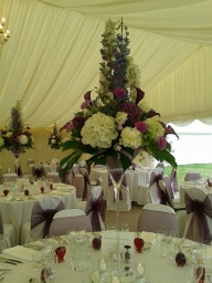 Wedding Flowers by Flower Design, Ripon.