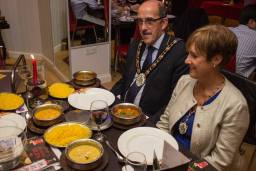 Mayor and Mayoress Fosters at the relaunch