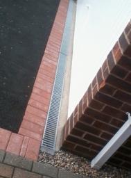 Aco drain installation Nottingham .