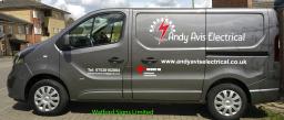Electrician Plumber Vehicle Van Graphics Signs