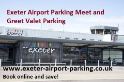 Exeter Airport Parking Terminal Meet Greet Valet
