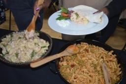 Flame BBQ Hog Roats Food experience.