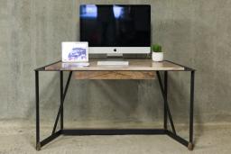 Walnut Office Desk   KODA STUDIOS