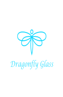 Dragonfly Glass by Julie