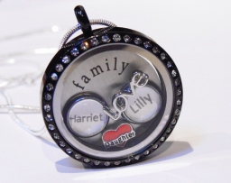 Personalised Name Charms for Floating Lockets