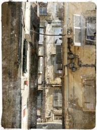 Old Corfu Town Postcard