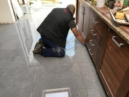Tiling at Safe UK Properties