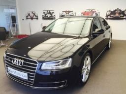 Black Audi A8