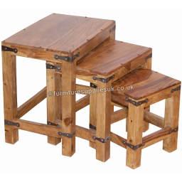 Jali Furniture | Sheesham Wood Nest Of Tables