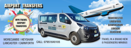 Airport Taxi & Transfers from Morecambe Lancaster