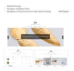 Client eCommerce Website Design for Jewellery Store
