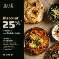 Basil indian restaurant