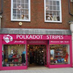 Polkadot Stripes shop front