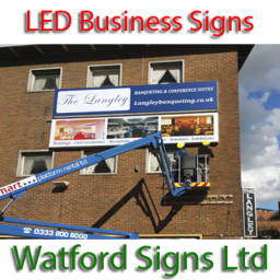 LED Illuminated Shop and Business Signs