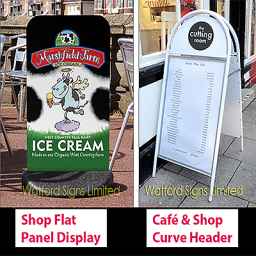 Watford Pavement Panel Poster A-Boards Signs