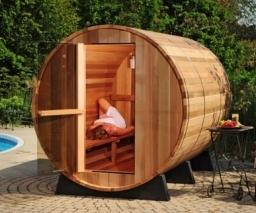 Barrel Sauna 4
