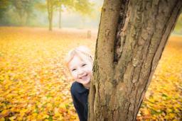 autumn photos in the park