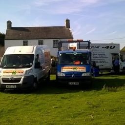 house clearance vans at southerndown