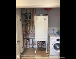 Worcester boiler installation