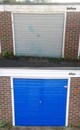 Garage Cladding & Painting