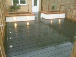 Composite Decking and Planters