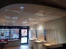 Opticians complete rewire