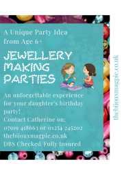 Children's Jewellery Making Parties