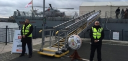 Security of UK Navy Ships